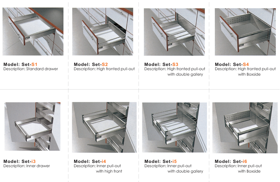 Blum Drawer System Series