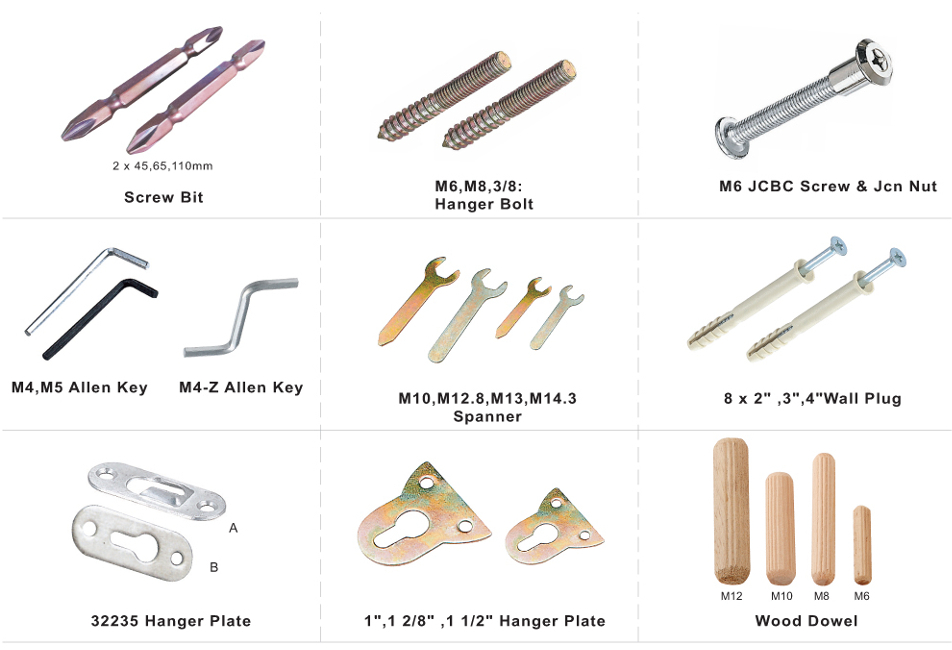 Fasteners / Accessories Series