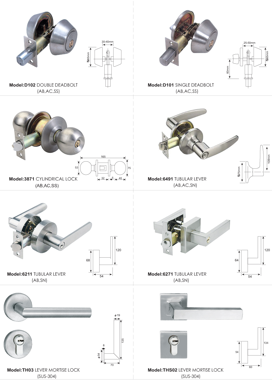 Door Lock / Accessories Series